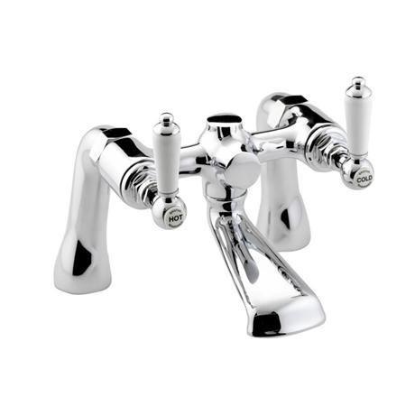 Bristan Renaissance Traditional Bath Filler - Chrome Plated - RS-BF-C