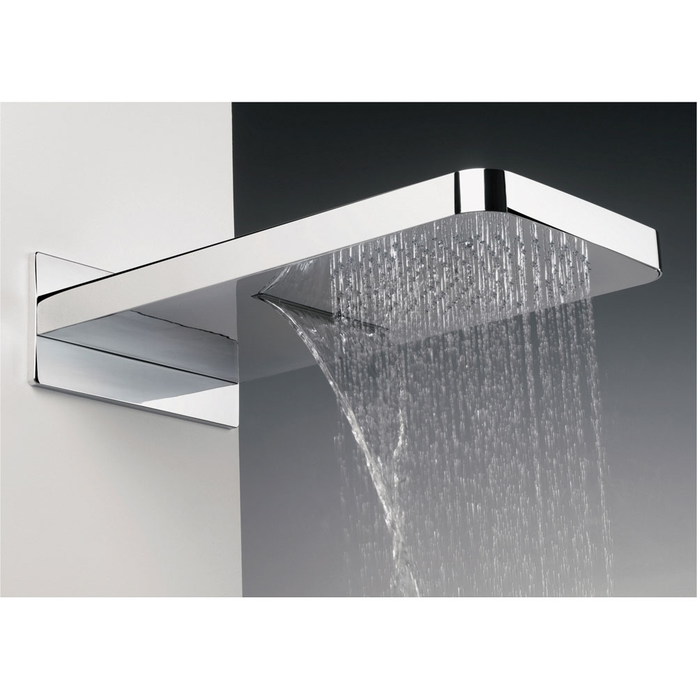 Crosswater Digital Spyker Elite with Fixed Head and Shower Handset - 2 x Colour Options profile large image view 6
