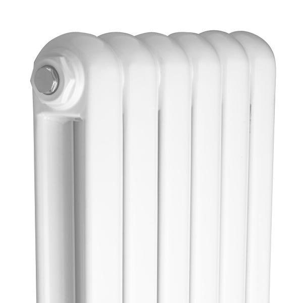 Rico Double Panel White Radiator 1800 x 377 profile large image view 2