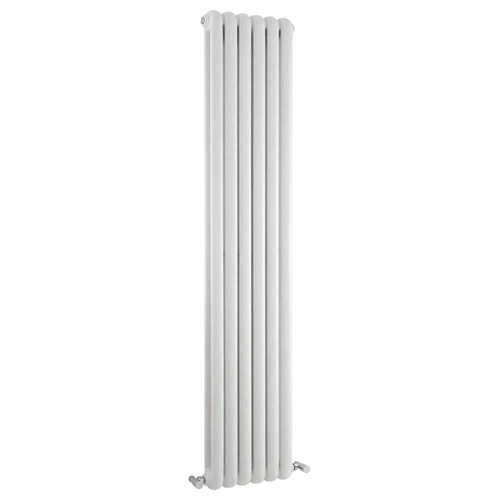Rico Double Panel White Radiator 1800 x 377 profile large image view 1