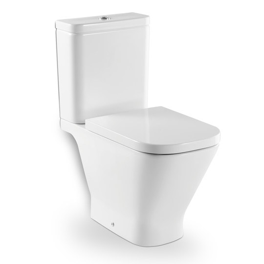 Roca - The Gap Close Coupled Toilet with Soft-Close Seat Large Image