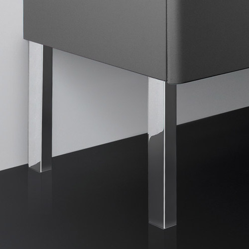Roca - 2 x Optional Legs for Use with The Gap Unik Furniture (pair) - 816405001 profile large image view 2