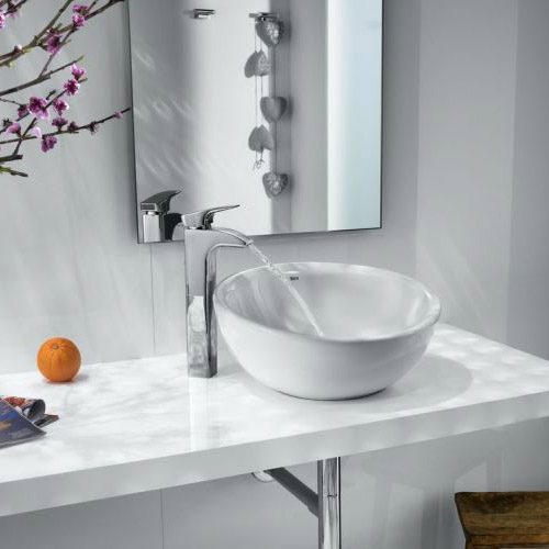 Roca - Bol 420mm Countertop Basin - White - 327876000 Feature Large Image