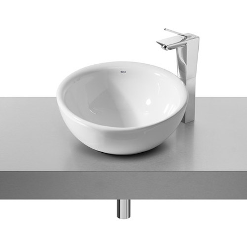 Roca - Bol 420mm Countertop Basin - White - 327876000 profile large image view 1