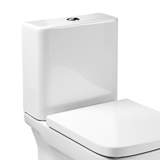 Roca Dama-N Close Coupled Toilet with Soft-Close Seat profile large image view 3