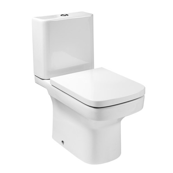 Roca Dama-N Close Coupled Toilet with Soft-Close Seat Large Image