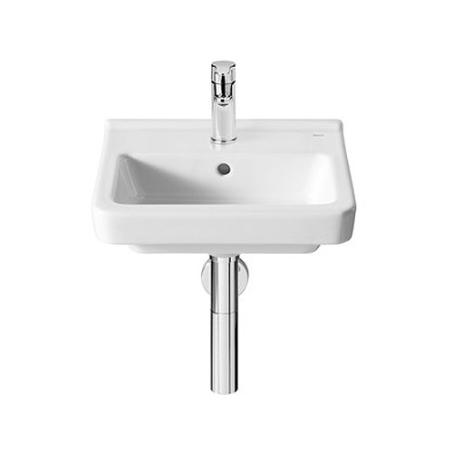 Roca Dama-N Compact Wall-hung 1TH Basin - Various Sizes profile large image view 1