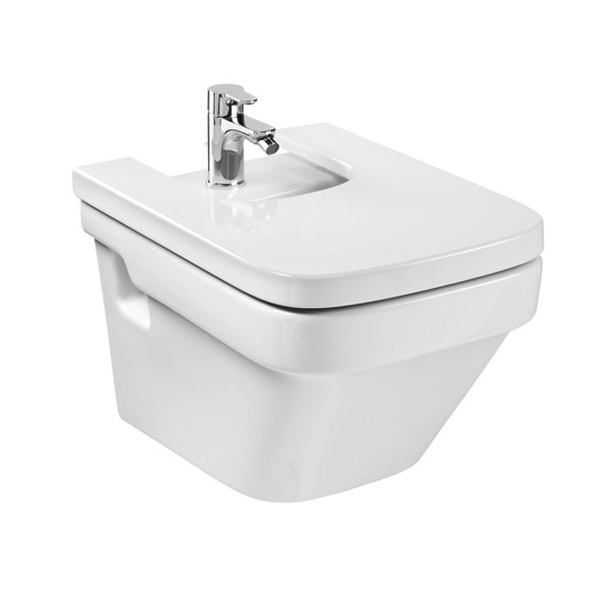 Roca Dama-N Wall Hung Bidet with Soft-Close Cover Large Image