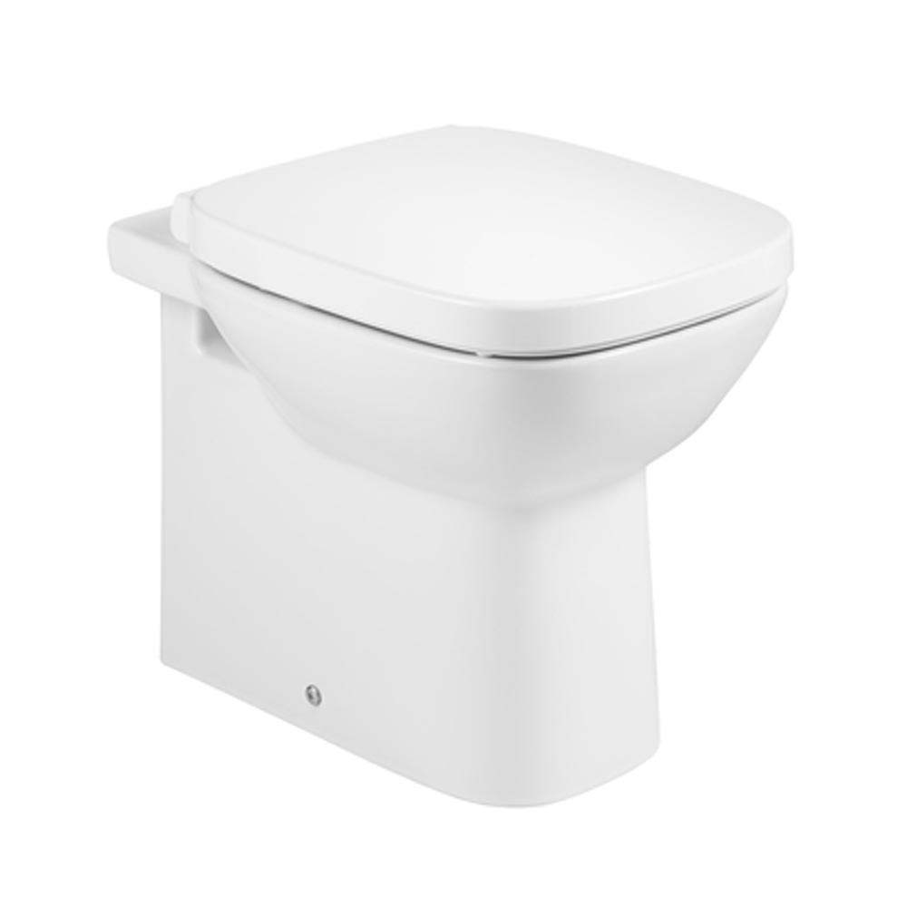 Roca Debba Back To Wall Toilet + Soft Closing Seat Large Image