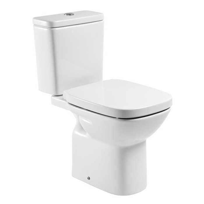 Roca Debba Close Coupled Toilet with Soft-Close Seat Large Image