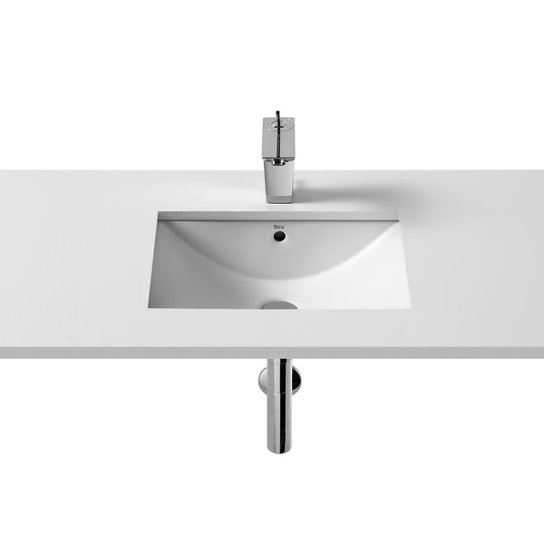 Roca Diverta In countertop or Under countertop Basin profile large image view 2