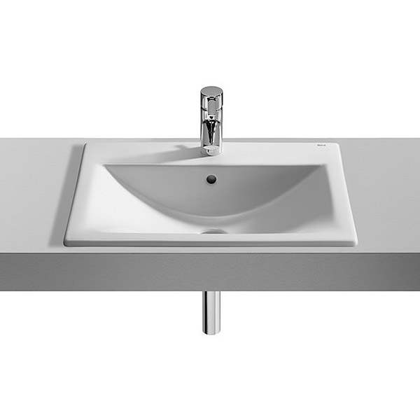 Roca Diverta In countertop or Under countertop Basin profile large image view 1