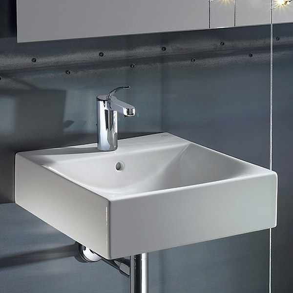 Roca Diverta Wall-hung or Countertop 1TH Basin profile large image view 2