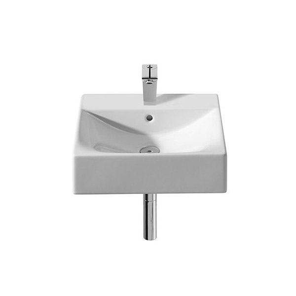 Roca Diverta Wall-hung or Countertop 1TH Basin Large Image