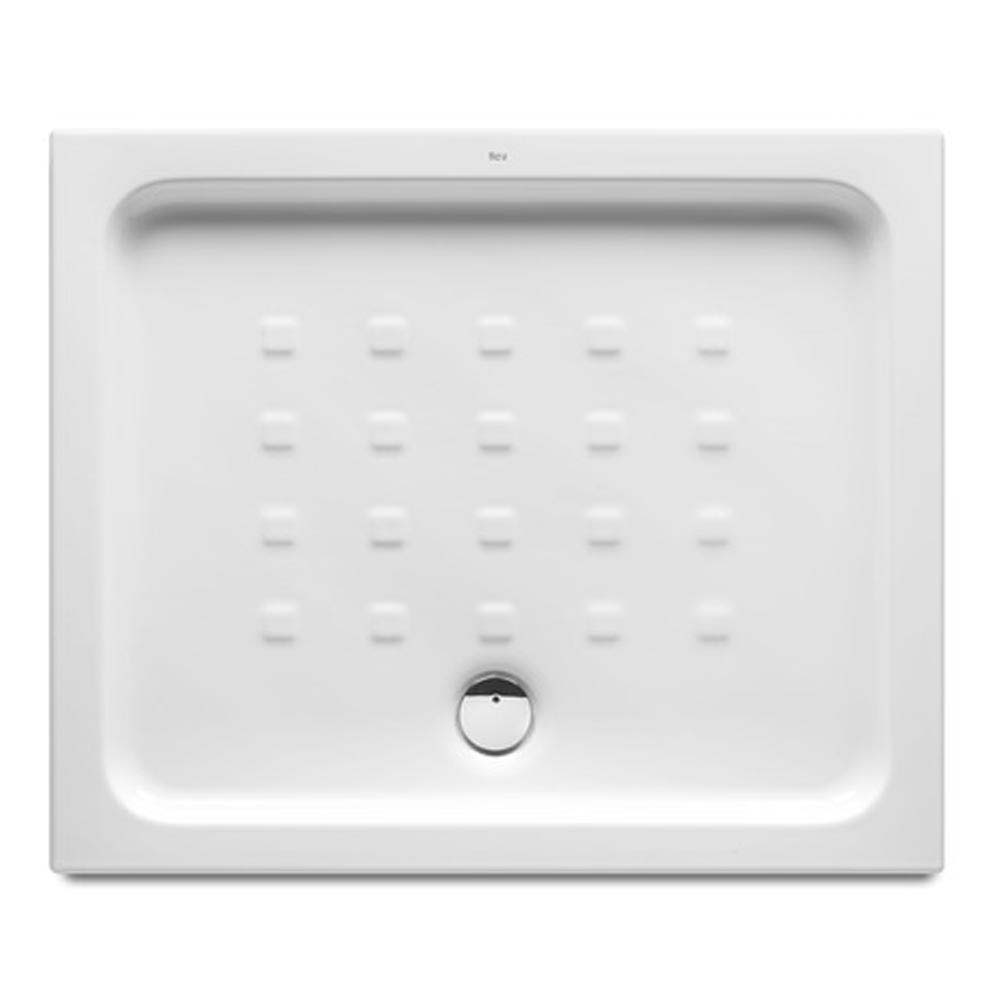 Roca Easy 900 x 750mm Vitreous China Shower Tray with Anti-Slip Base Large Image