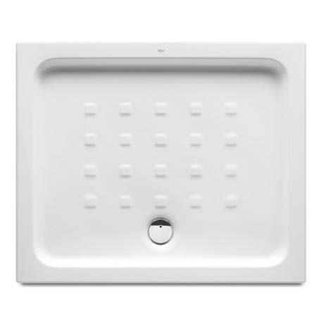 Roca Easy 900 x 750mm Vitreous China Shower Tray with Anti-Slip Base