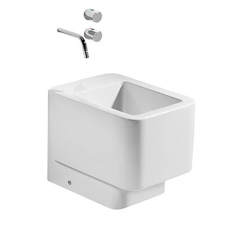 Roca - Element BTW Bidet - 2 x Tap Hole Options