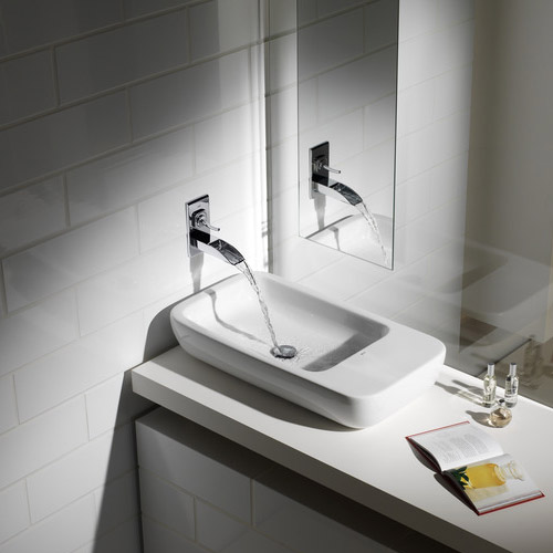 Roca Evol Chrome Built-in basin mixer - 5A4749C00 profile large image view 2
