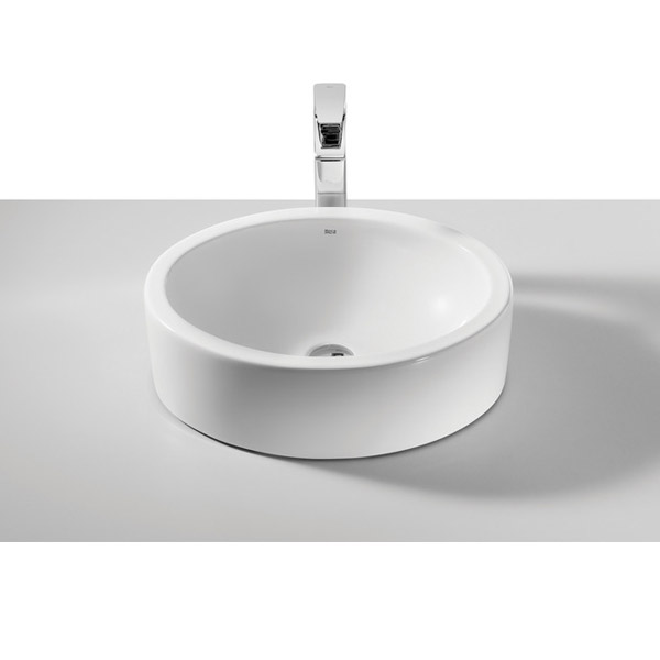 Roca Fuego 490 x 390mm Over countertop Basin 0TH - 32722E000 Large Image