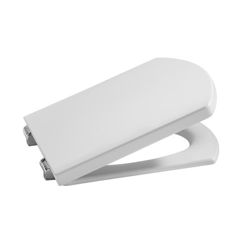 Roca Hall Back To Wall Pan with Soft-Close Seat profile large image view 2