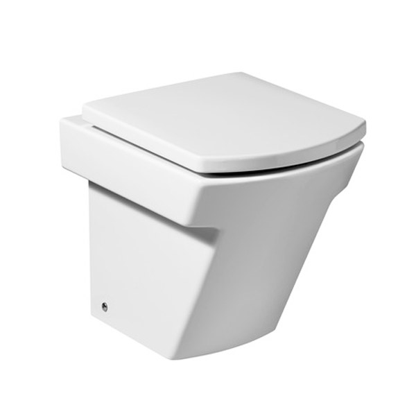 Roca Hall Back To Wall Pan with Soft-Close Seat Large Image