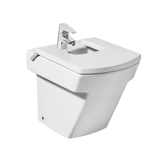 Roca Hall Floor-Standing Bidet with Cover Large Image