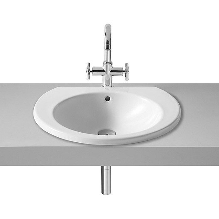 Roca Happening 520 x 445mm In countertop Basin - 327565000 profile large image view 1