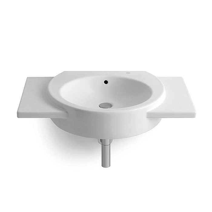 Roca Happening 700 x 475mm Wall Hung Basin with Wings - 327564000 profile large image view 1