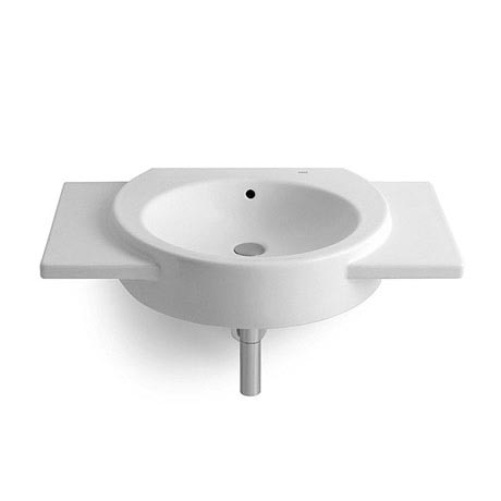 Roca Happening 700 x 475mm Wall Hung Basin with Wings - 327564000