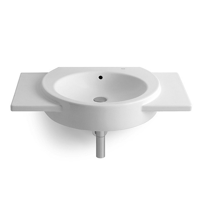 Roca Happening 900 x 475mm Wall Hung Basin with Wings - 327560000 profile large image view 1