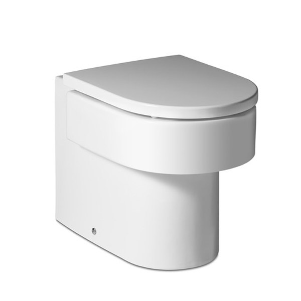Roca Happening Back To Wall Pan with Soft-Close Seat profile large image view 1