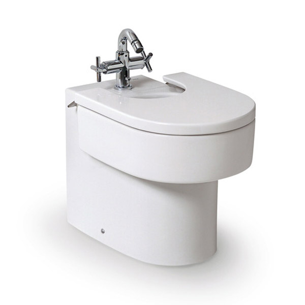 Roca Happening Floor-Standing Bidet with Cover Large Image