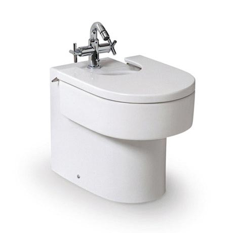 Roca Happening Floor-Standing Bidet with Cover