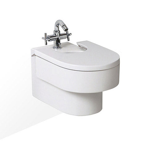 Roca Happening Wall-hung Bidet with Cover