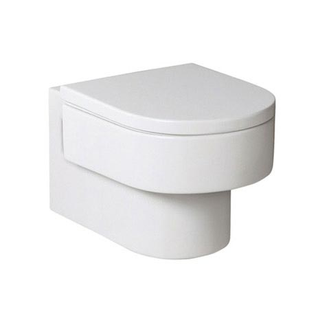 Roca Happening Wall-hung Pan with Soft-Close Seat