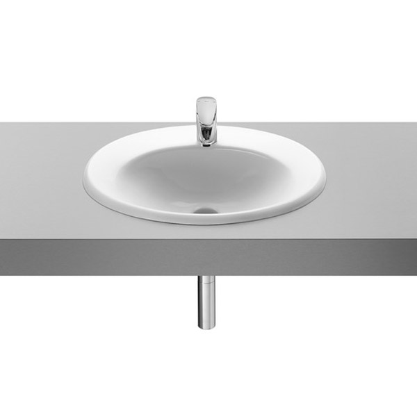 Roca Java 560 x 475mm In countertop Basin profile large image view 1
