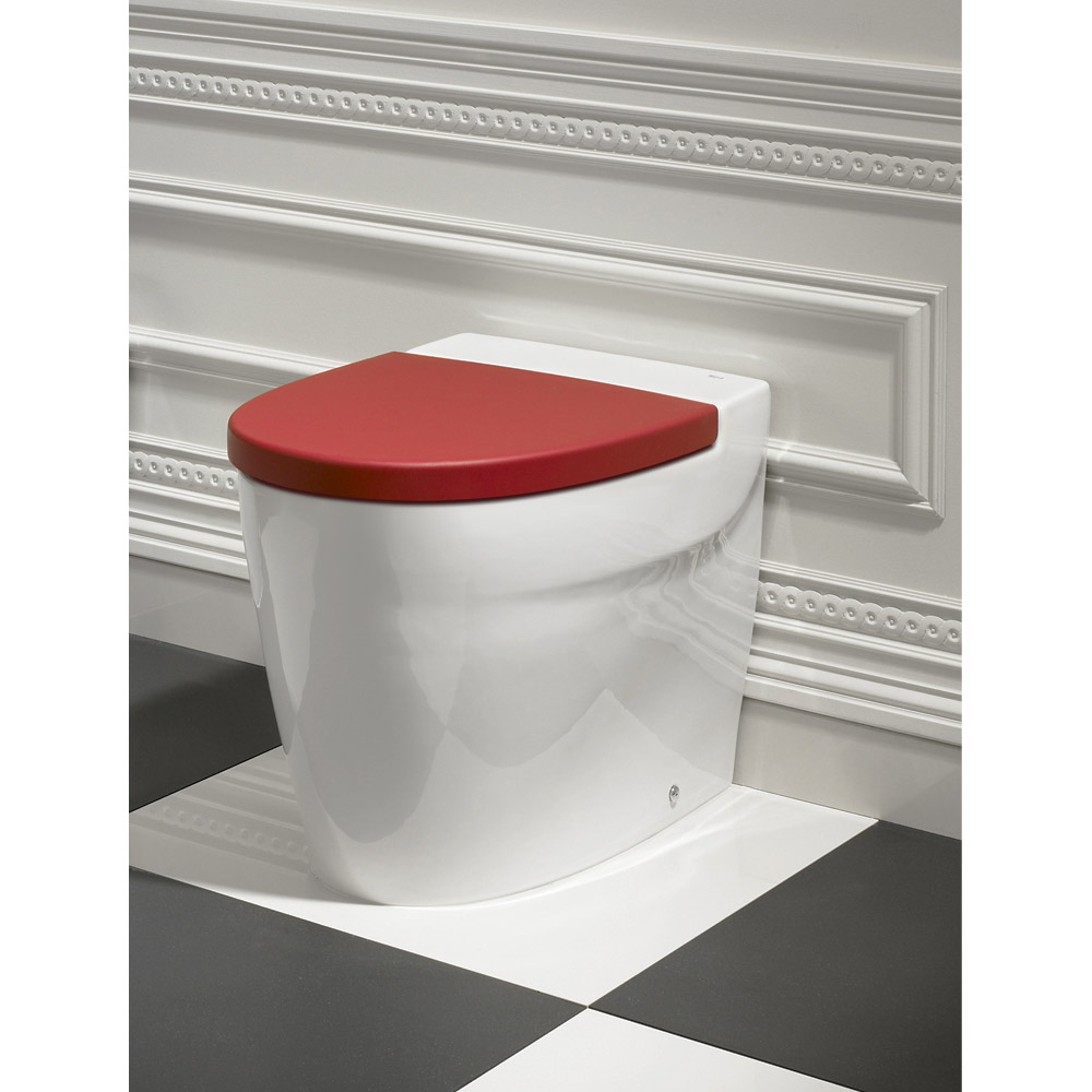 Roca Khroma Back To Wall Pan with Soft-Close Seat Profile Large Image