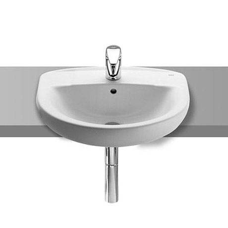 Roca Laura 510 x 400mm Semi-recessed Basin