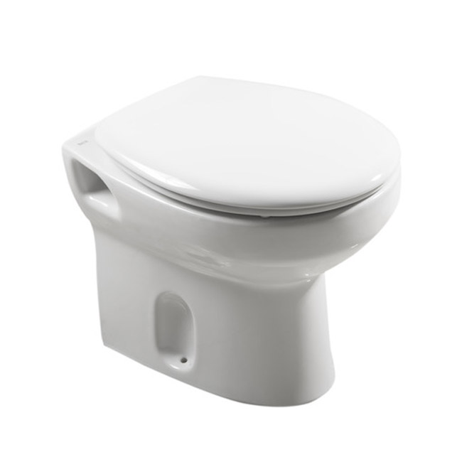 Roca Laura Back To Wall Pan with Soft-Close Seat Large Image