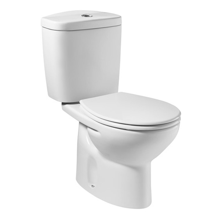 Roca Genuine Senso WC Toilet Seat with Soft Close White