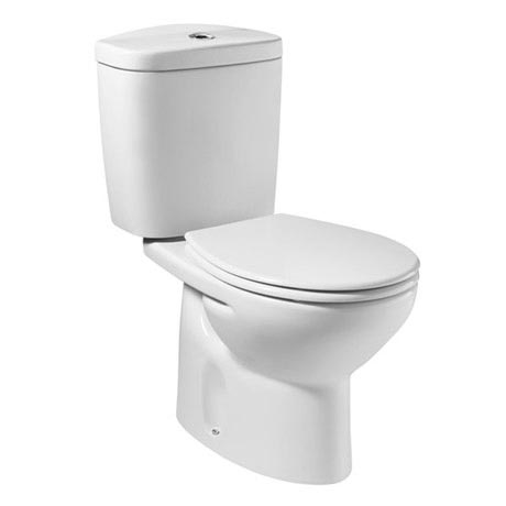 Roca Laura Close Coupled Toilet with Soft-Close Seat