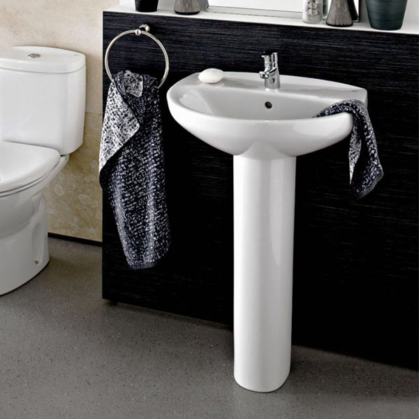 Roca Laura Full Pedestal Only - 331300004 Feature Large Image