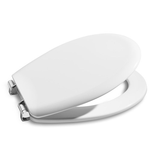Roca Laura Wall Hung Pan with Soft-Close Seat profile large image view 2