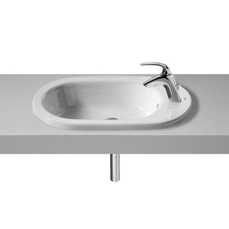 Roca Meridian-N 600 x 340mm In Countertop 1TH Basin - 32724E000