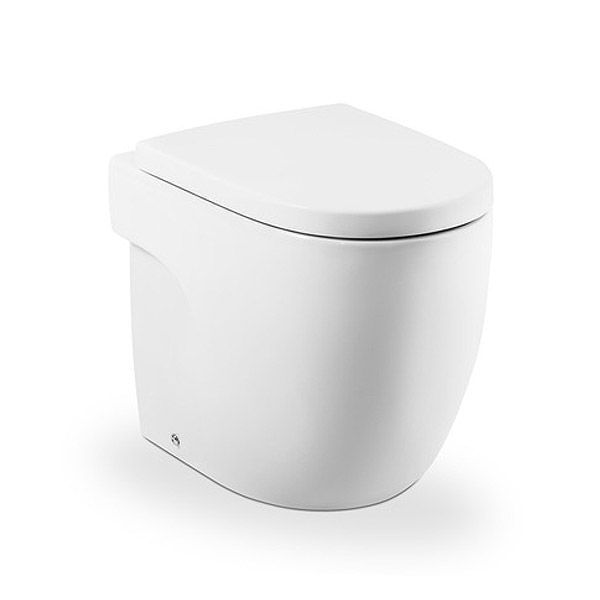 Roca - Meridian-N Back to Wall WC Pan and Soft Close Seat Large Image