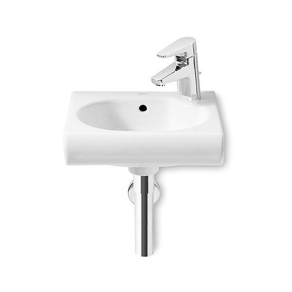 Roca Meridian-N Compact Wall-hung 1TH Basin Large Image