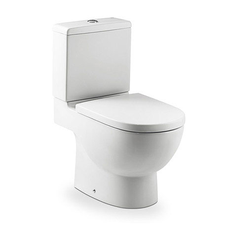 Roca - Meridian-N Close Coupled Toilet with Soft Close Seat
