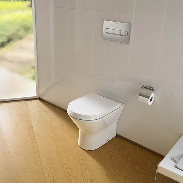 Roca Nexo Back to Wall Pan and Soft-Close Seat profile large image view 3