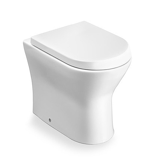 Roca Nexo Back to Wall Pan and Soft-Close Seat profile large image view 1