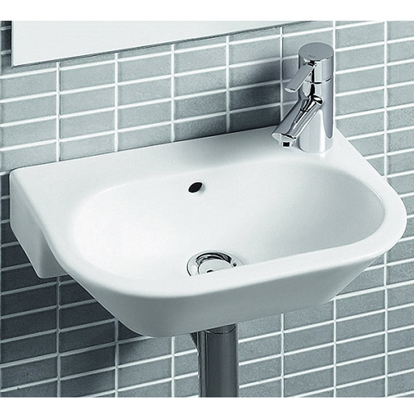 Roca Nexo Compact 405 x 275mm Wall-hung 1TH Basin - 327645000 Feature Large Image